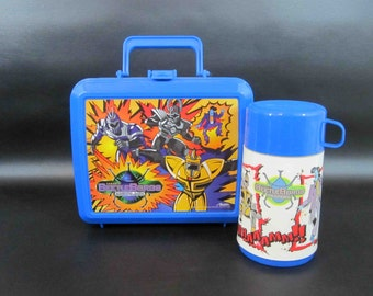 Vintage BeatleBorgs Lunchbox with Thermos