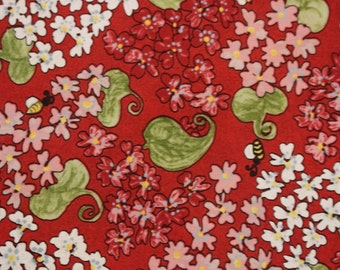 Glamping Gypsies by Pearl Krush for Troy Corp Quilting Fabrics TR46 Sold by the Half Yard