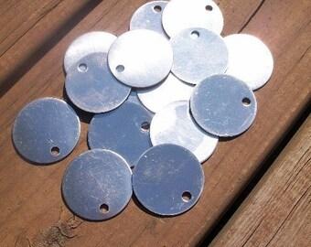 10 Aluminum 1.5 Inch Discs - 18 Gauge