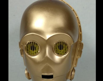 Star Wars C3PO Real Size Gold Version 1:1 Scale Prop
