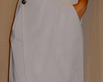 Wrap skirt / By Luna seam side pockets