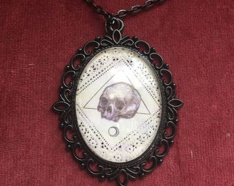 Black Skull Necklace