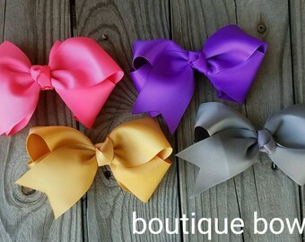 Boutique and elegant little girl bows
