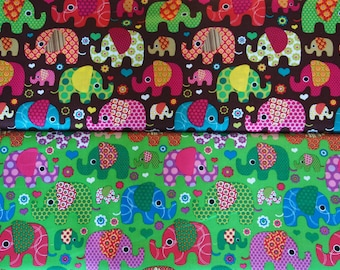 Meet the Elephants - Background green or brown