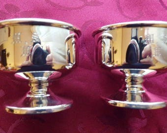 """Ovington Sterling Silver Master Salt Nearly 2"""" tall x 2.5"""" Across - SPECIAL SALE PRICE"""