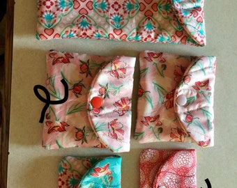 Snap bags  various sizes