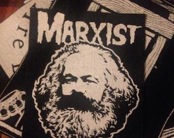 Karl Marx Misfits Patch