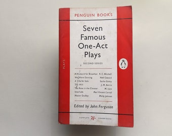 Seven Famous One-Act Plays - 1953 - Penguin Books - Paperback - Second hand books