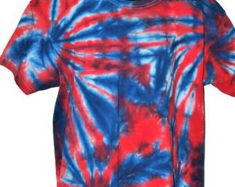 Tie dye t-shirt, Children's tie dye, Children's t-shirt, Cotton clothing, Kids tie dye, Kids t-shirt, Tie dye, T-shirt,  9-11 years clothing