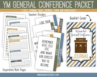 LDS General Conference Kits for Young Men