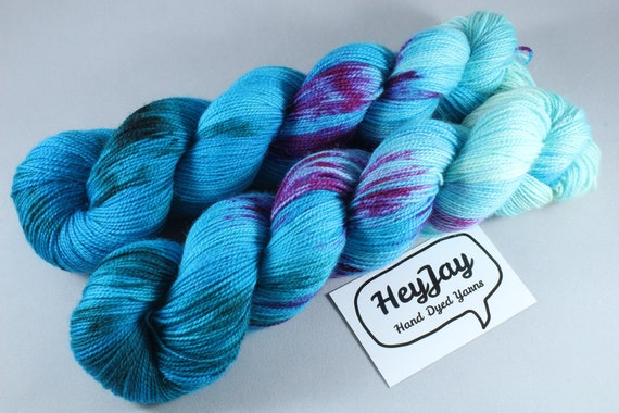 Ultimate Sock Yarn, BFL High Twist - Opal Ring