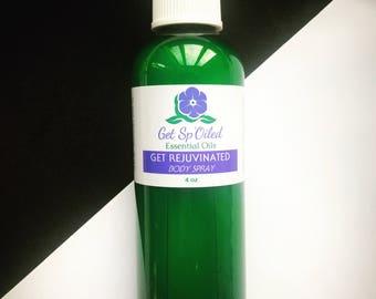 Get Rejuvenated Essential Oil Body Spray