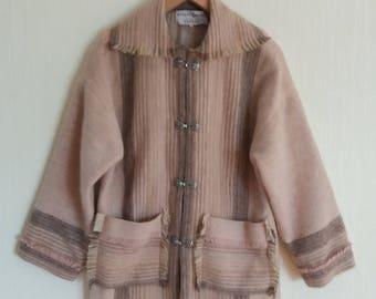 Jahrgang Schweden Frauen Wolle Jacke groß