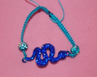 dark blue snake Shamballa