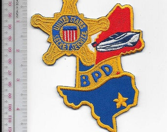 US Secret Service USSS Texas President George HW Bush Protection Division Agent Patch