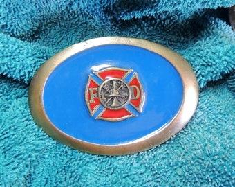 Metal Belt Buckles; Fireman Symbol; America's Bravest; Proud Irish; Coors