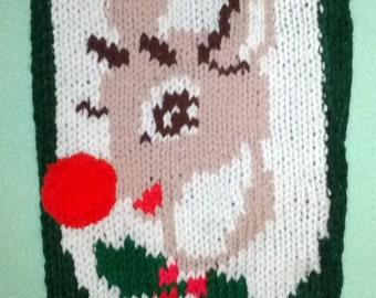 Hand Knit Christmas Stocking Upgrade Embellishments