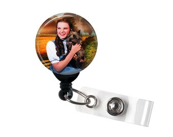 Dorothy and Toto, Retractable ID Badge Reel, Wizard of Oz