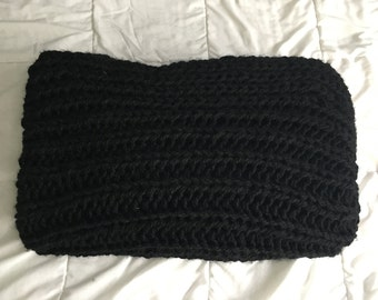 Cozy Hand Knit Blanket