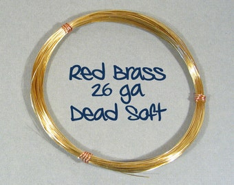 26ga 200ft DS Red Brass Wire