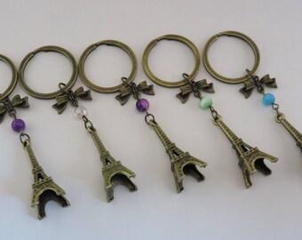 "Keychain bronze ""tour Eiffel"""