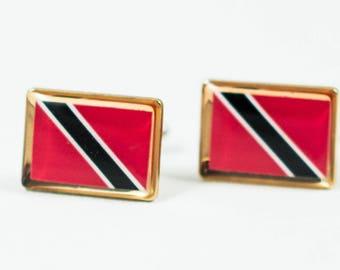 Trinidad and Tobago Flag Cufflinks