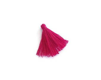 Red cotton tassel