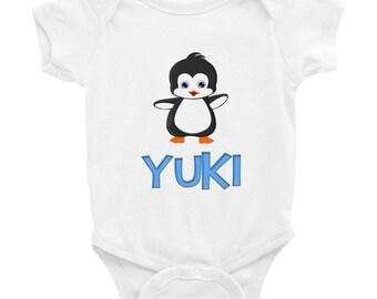 Yuki Penguin Infant Bodysuit