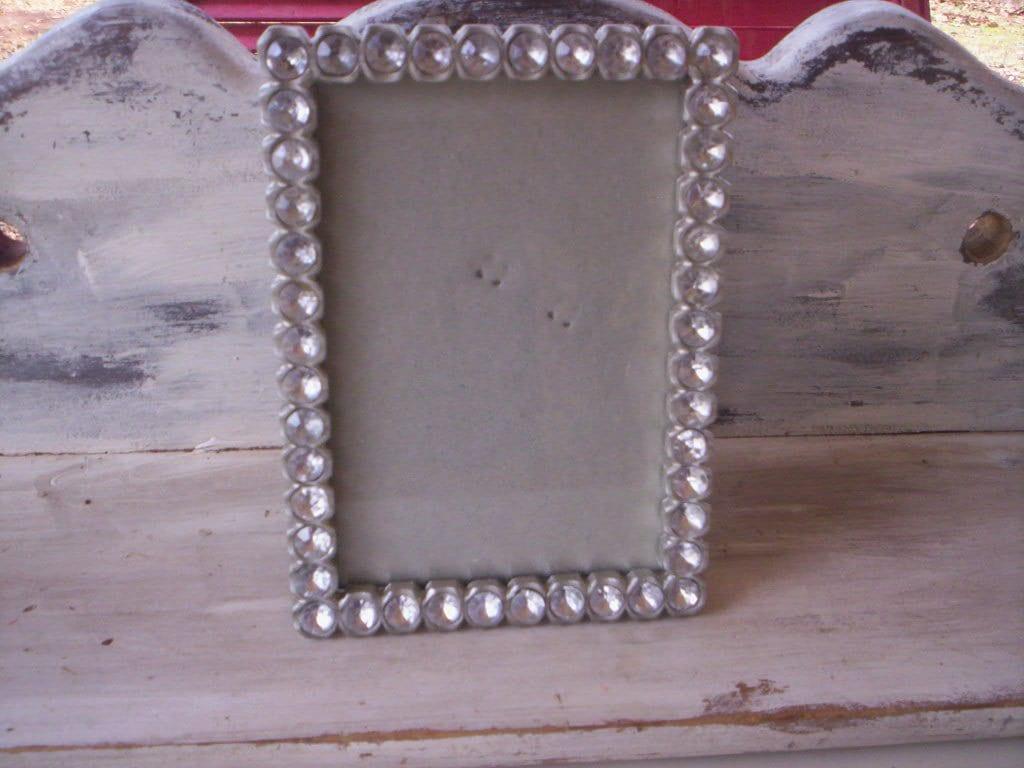 Recuerdo/Metal y diamantes de pequeño marco de foto marco de Metal y ...