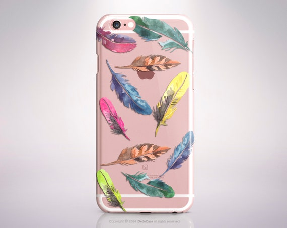 Feather iPhone 7 Plus case Clear iPhone 7 case Feather iPhone 6 case Clear iPhone 6s case Rubber iPhone 5S Case Clear iPhone SE Case Clear