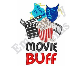 Movie Buff - Machine Embroidery Design