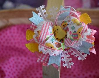 Easter Peep Bow