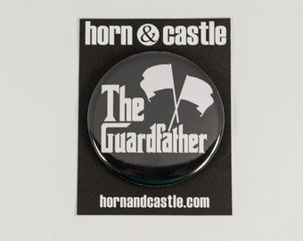 The Guardfather Colorguard 2.25 inch Pinback Button or Magnet