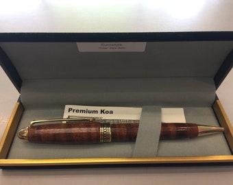 Koa Eurostyle Pen