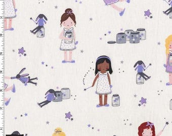 Sprinkle, Sprinkle, Little Stars Twinkle from Michael Miller's Twinkle Fairies Collection