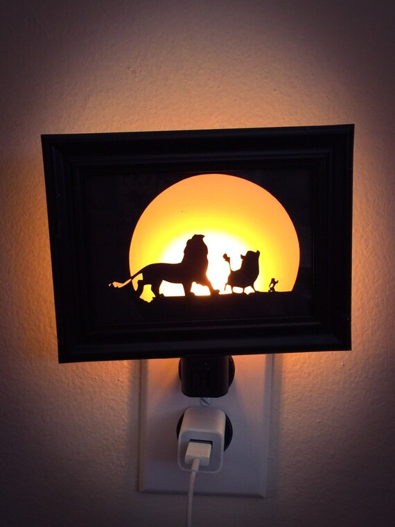 Charming Lion King Inspired Night Light