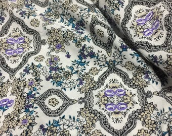 Rayon Challis Print Fabric 2 Yards