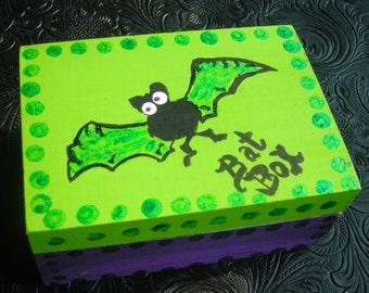 Painted Bat Box