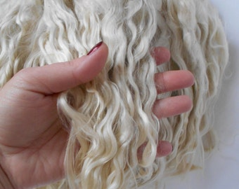 Mohair Doll Hair,Blythe Hair Mohair,Reborn Hair,BJD,doll hair,Mohair locks, Doll hair,BJD head Mohair