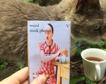 Weird Stock Photos (The Miscellaneous Volume): A Zine