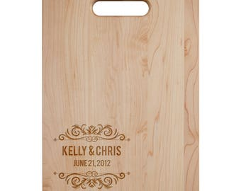Together Cutting Board - Engraved Cutting Board,Personalized Cutting Board, Wedding Gift,Housewarming Gift, Anniversary Gift