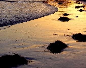 Low Tide at Sunset by Catherine Roché, California Landscape Photography, Beach Photography, Malibu Coastline Photography, Fine Art