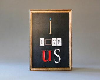 I Love Us (Black)