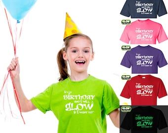 It's My Birthday Glow-in-the-Dark T-shirt