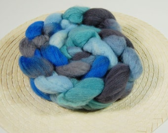 Blueface roving (top) - Baby Blue