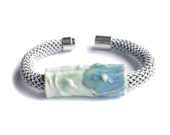 Rope ARTISAN bracelet, green