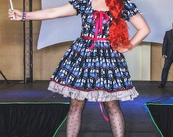 Tardis Dr Who inspired Lolita Dress