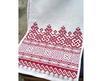 Towel Berehynia; Russian embroidery towel