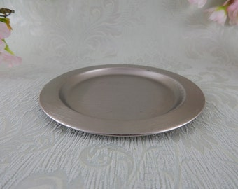 Metal plate for christening candle 140 mm