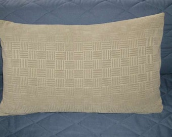 15 x 25 Very Pale Green Pillow Cover